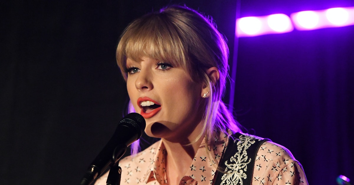 Taylor Swift's Tiny Desk Concert Revealed New Details About 'Lover'