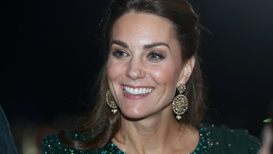 Kate Middleton in Pakistan, following in Diana's footsteps.