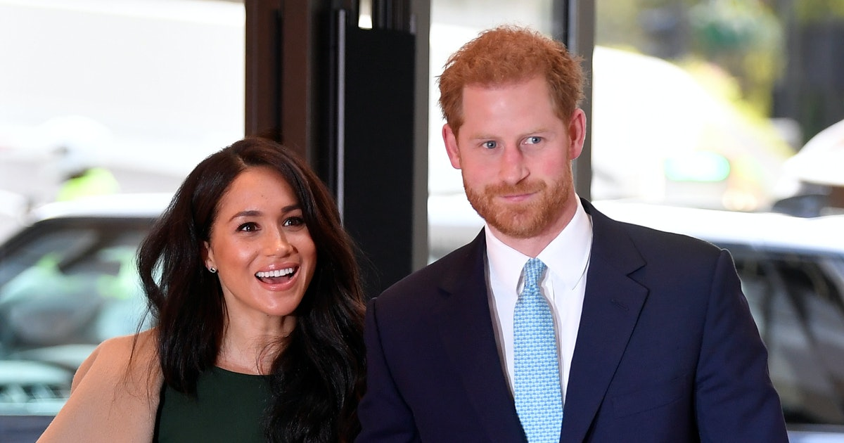 Prince Harry Reassuring Meghan Markle About Her Postpartum Body Is Golden