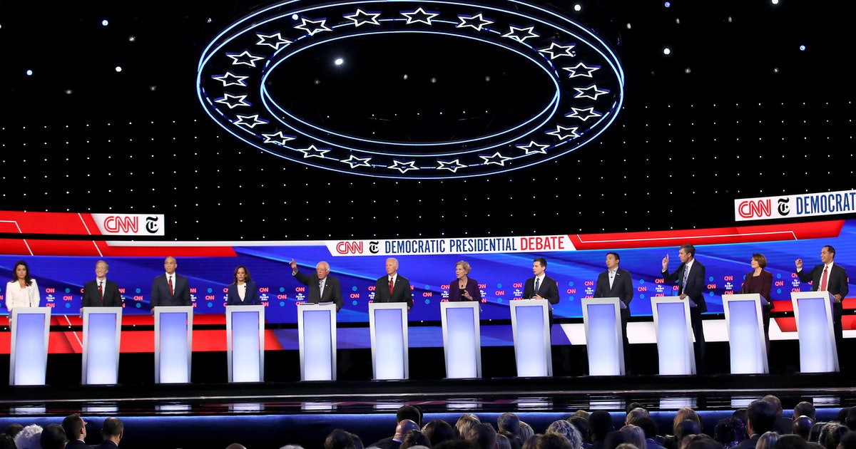 The Democratic Candidates' Quotes About Impeachment At The Oct. 15 Debate Go Hard