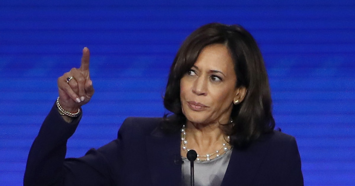 Kamala Harris' Comment About Reproductive Rights At The Oct. 15 Debate Is Pure Fire