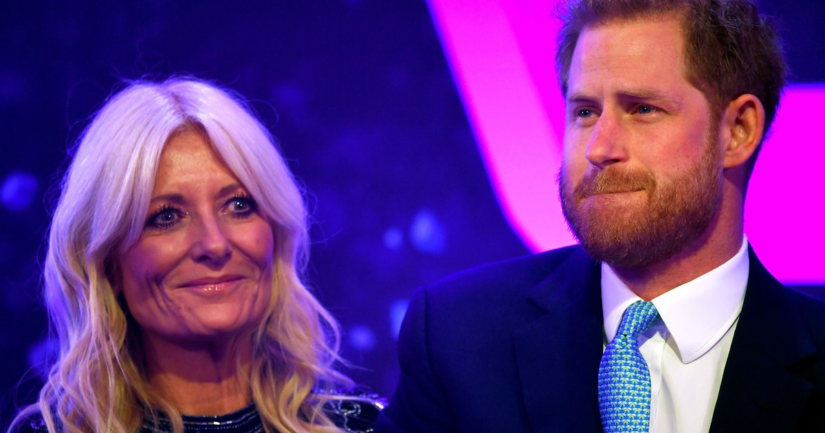Prince Harry Teared Up When He Mentioned Meghan & Archie In A Speech