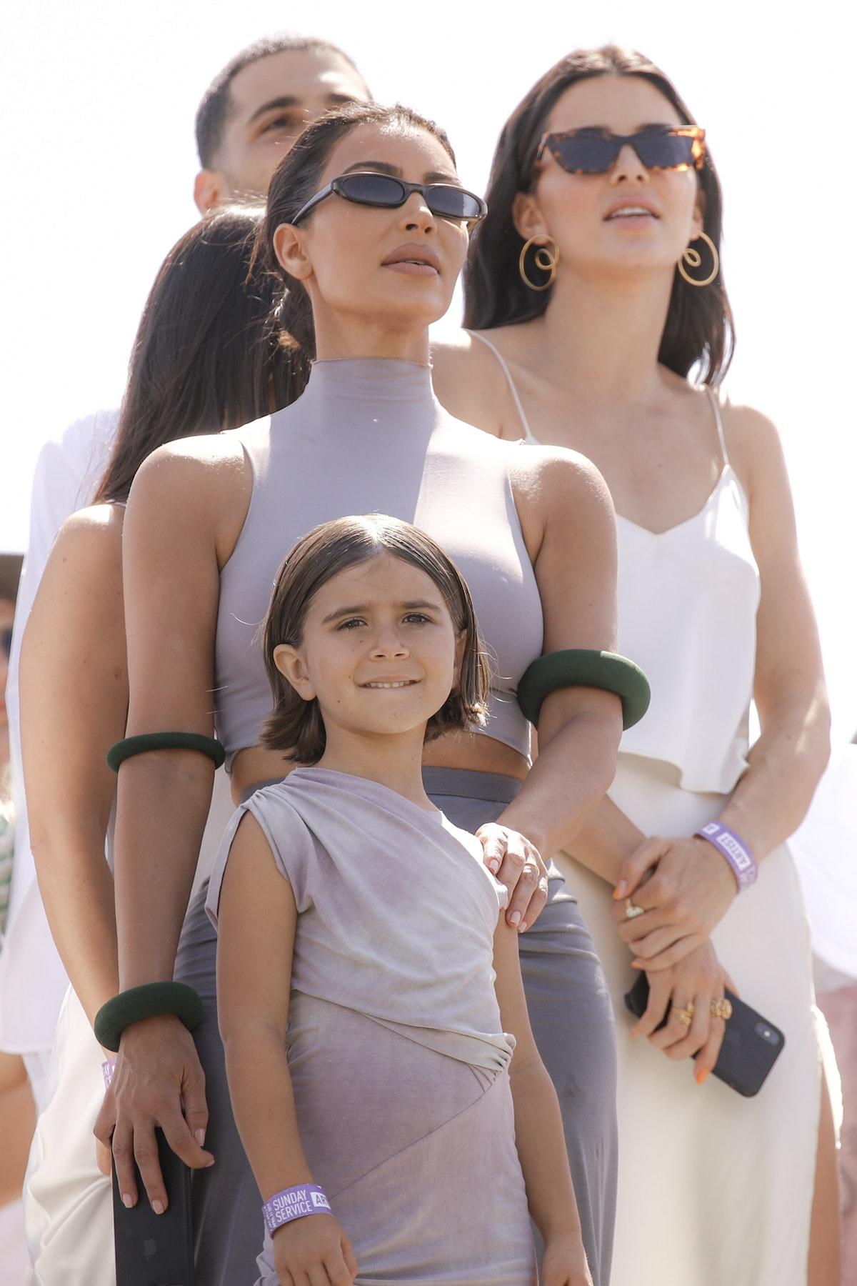 Sunday Service Costumes include Kim at Coachella