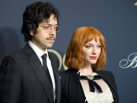 Christina Hendricks and husband Geoffrey Arend split after 10 years of marriage.