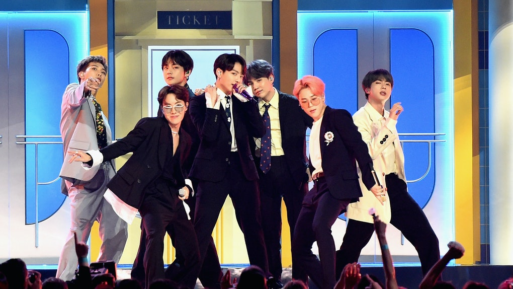 K-Pop group BTS at the 2019 Billboard Music Awards