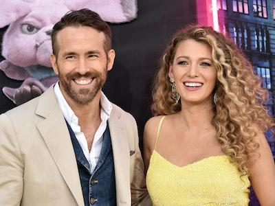 Ryan Reynolds & Blake Lively At 'Inspector Pikachu' Premiere