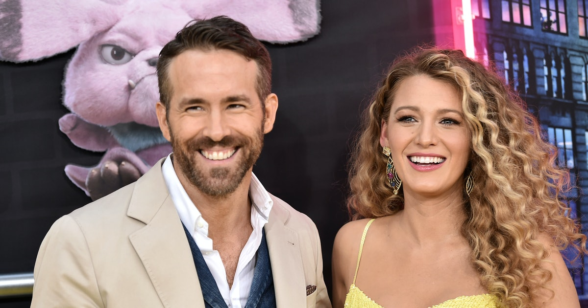 Blake Lively & Ryan Reynold's First Photo With Their Third Baby Is So Sweet