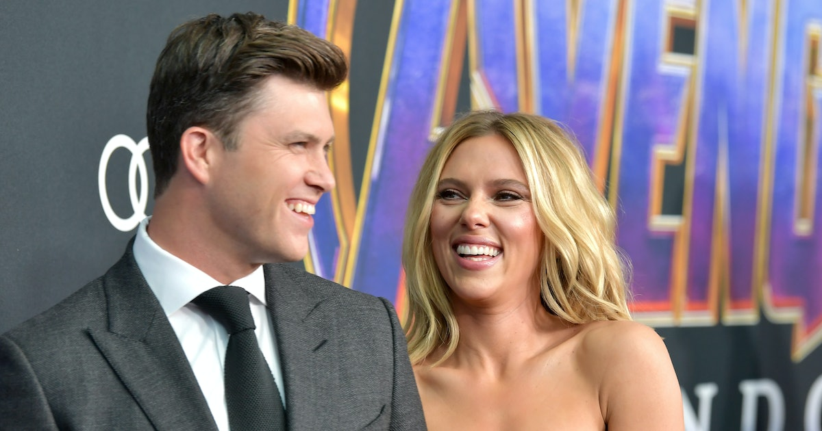 """Scarlett Johansson Compared Colin Jost's Proposal To A """"James Bond Situation"""""""