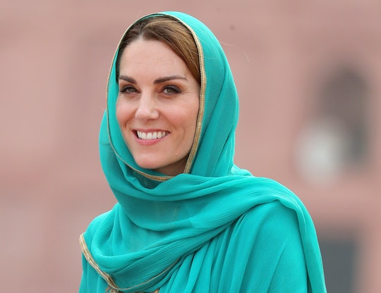 Kate Middleton gave her second televised interview since 2010 on Thursday while in Pakistan.