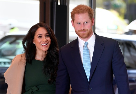 Prince Harry & Meghan Markle at the WellChild Awards in London, England