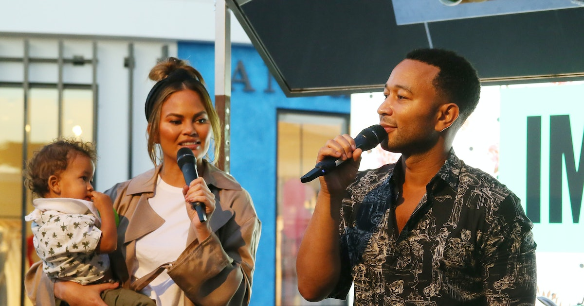 Chrissy Teigen's Attempt At A Family Photo Is All Of Us