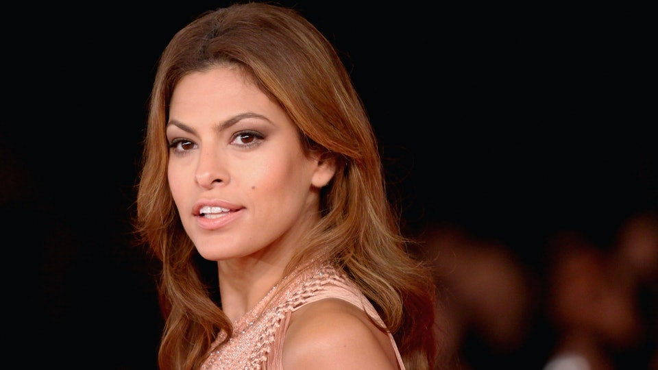 Eva Mendes has said that being a stay-at-home mom is a harder job than acting.