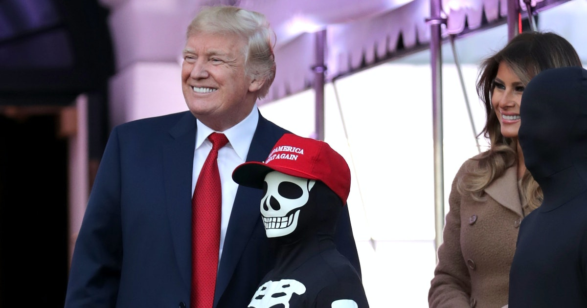These 4 Trump-Inspired Costume Ideas For Halloween 2019 Bring The Memes To Life