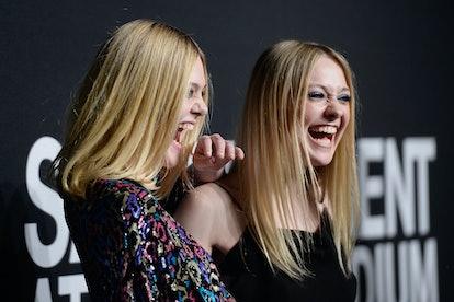 Elle and Dakota Fanning share a close bond.