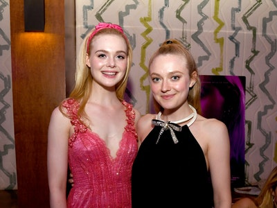 Elle and Dakota Fanning bicker in Halloween throwback video.