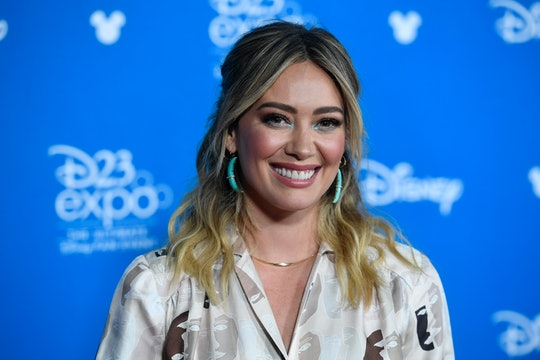 Hilary Duff is struggling with doing her son's math homework since she's been a working actress since the second grade.