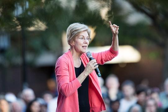 Elizabeth Warren unveiled a plan for public education Monday that would quadruple funding for public...