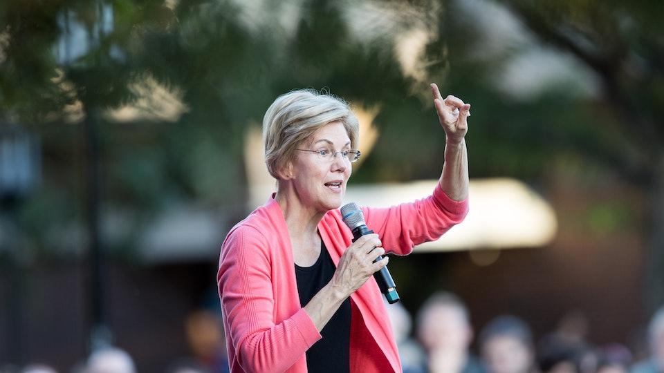 Elizabeth Warren unveiled a plan for public education Monday that would quadruple funding for public schools.