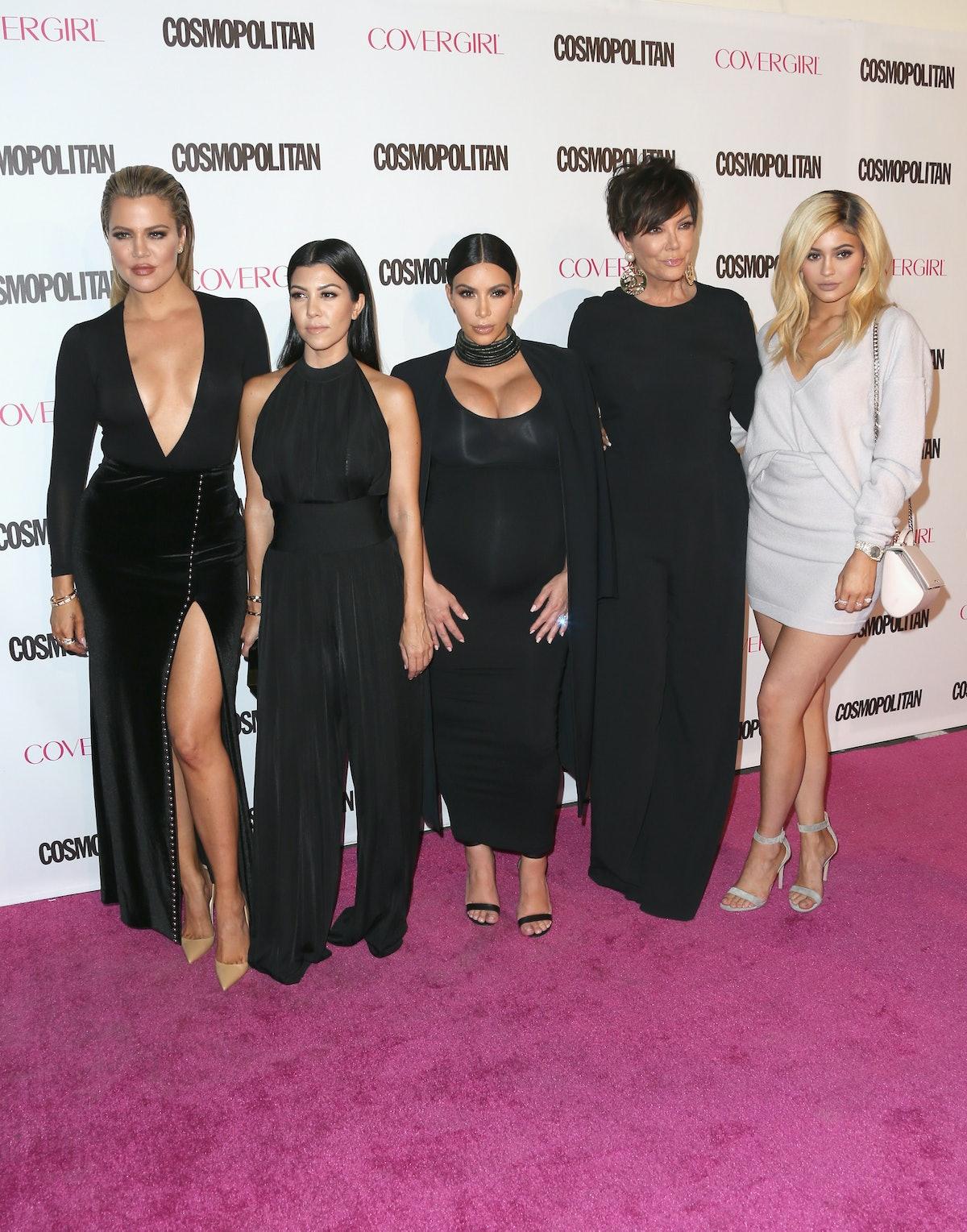 The Kardashians' Instagrams For Kim's 39th Birthday Are Cute Throwback Photos