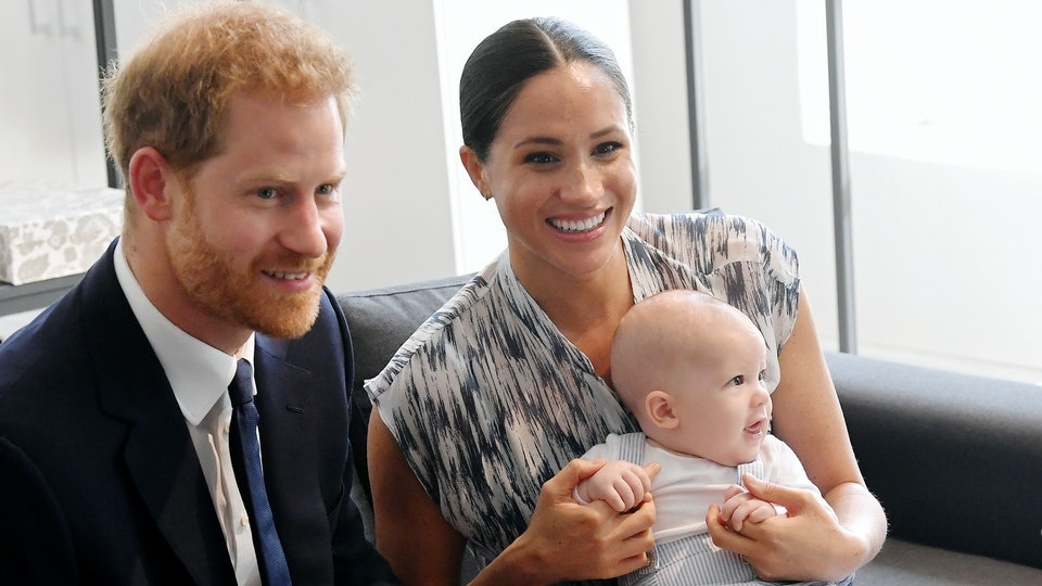 Prince Harry, Meghan Markle, & baby Archie in Cape Town, South Africa