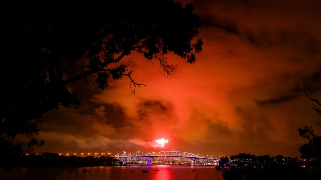 Don't set off fireworks in a wildfire prone area.