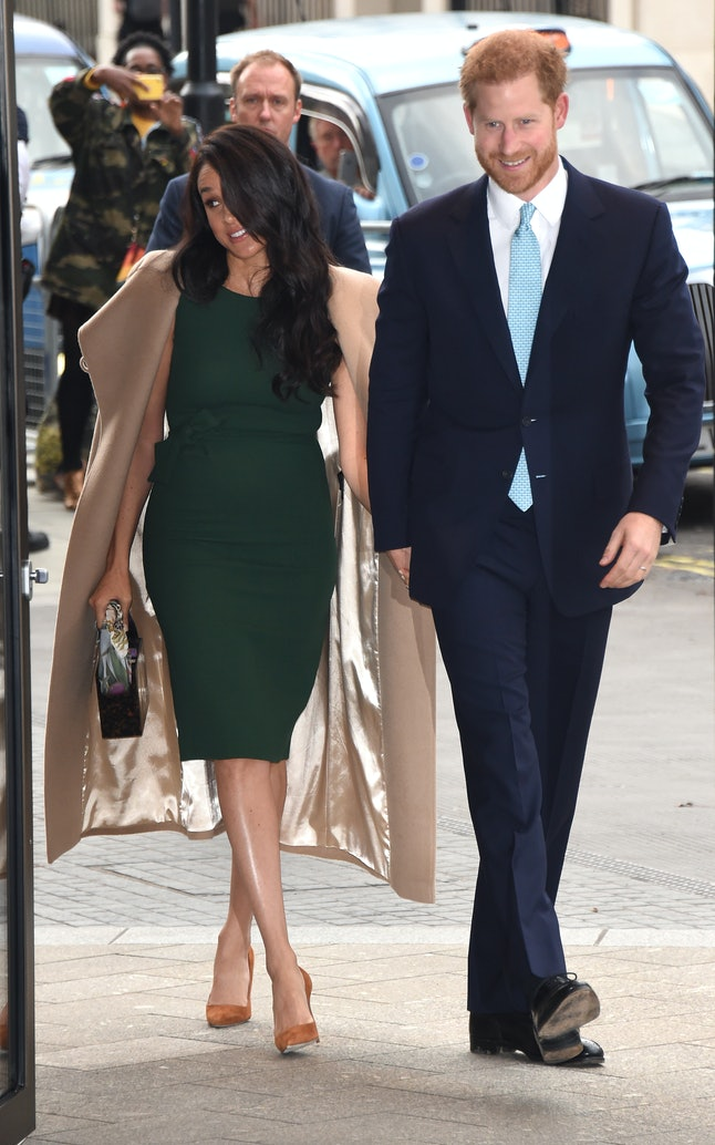 Meghan Markle rewore her engagement dress to the 2019 Wellchild Awards.