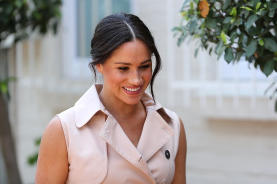 Meghan Markle declined a curtsy in favor of a hug