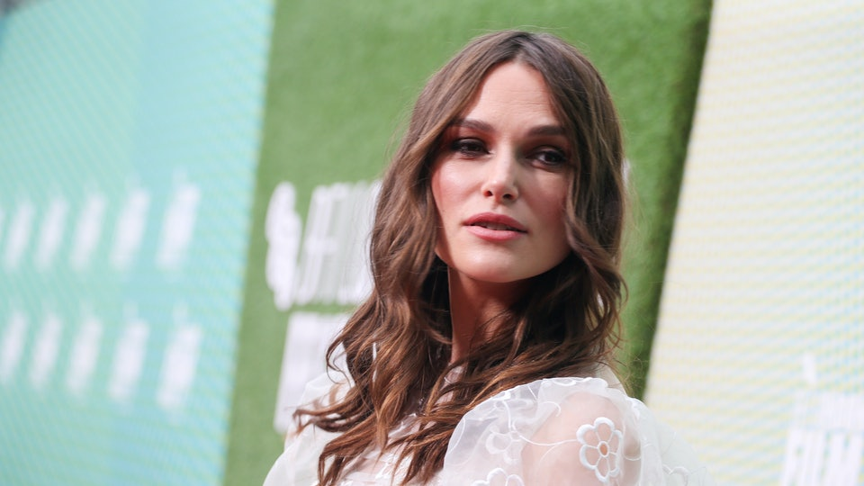 Keira Knightley on the red carpet for 'Official Secrets'