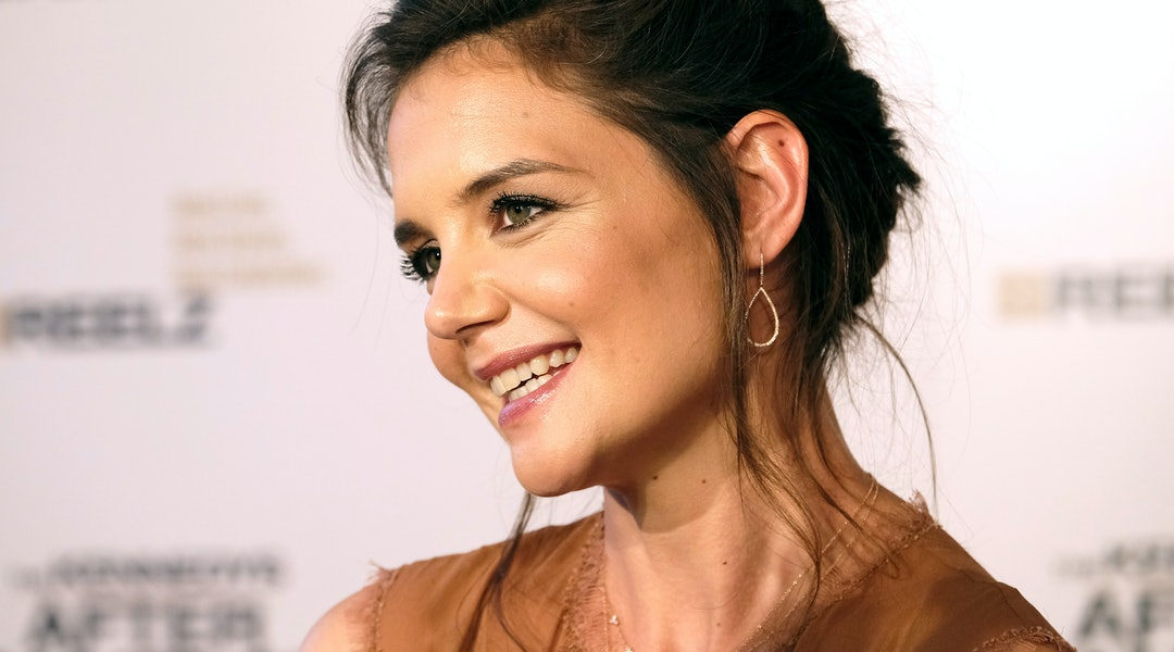 Katie Holmes Little Black Dress Will Carry You Through Party Season With Ease