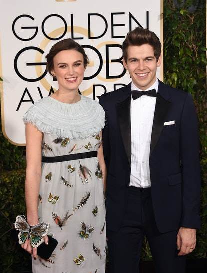 Keira Knightley with husband James Righton