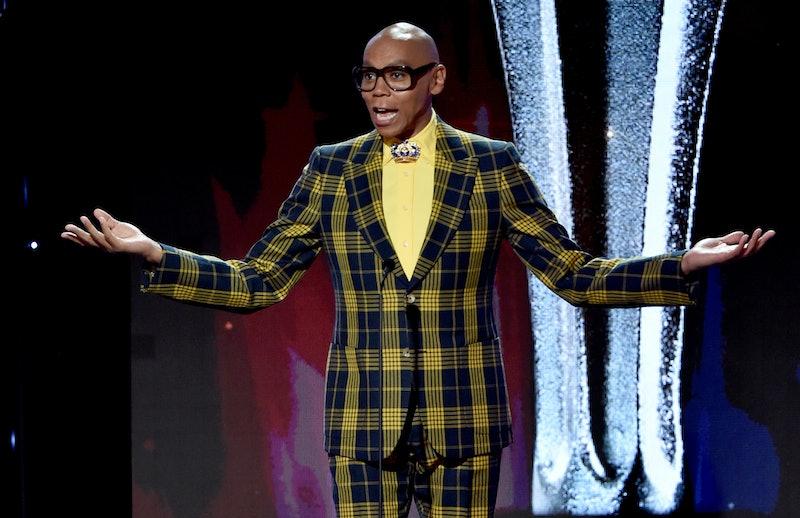 RuPaul at the 2019 Critics' Choice Real TV Awards
