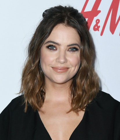 Fall 2019 hair colors like Ashley Benson's brunette hair