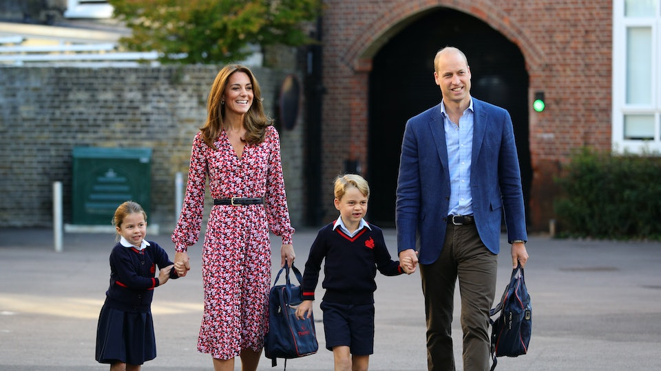 Kate Middleton went Halloween shopping with her two oldest children Prince George and Princess Charlotte