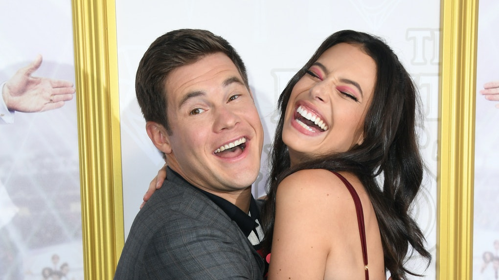 Adam Devine and Chloe Bridges are engaged