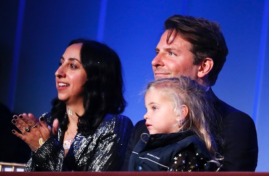 Bradley Cooper's daughter Lea made her first public appearance.