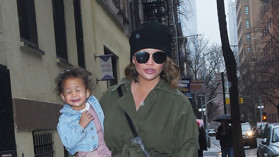 Chrissy Teigen shared in her family's recent Vanity Fair cover story that she has around-the-clock help with parenting her two kids.