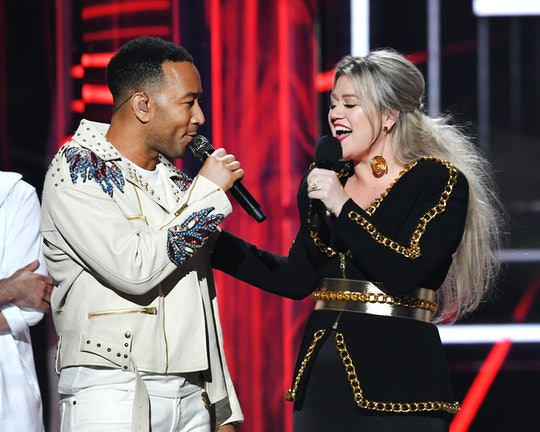 "Kelly Clarkson and John Legend's version of ""Baby, It's Cold Outside"" will include updated lyrics written by Legend and Natasha Rothwell."