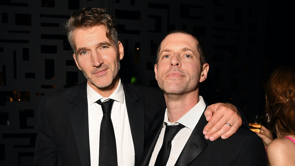 The 'Game Of Thrones' showrunners David Benioff and D. B. Weiss