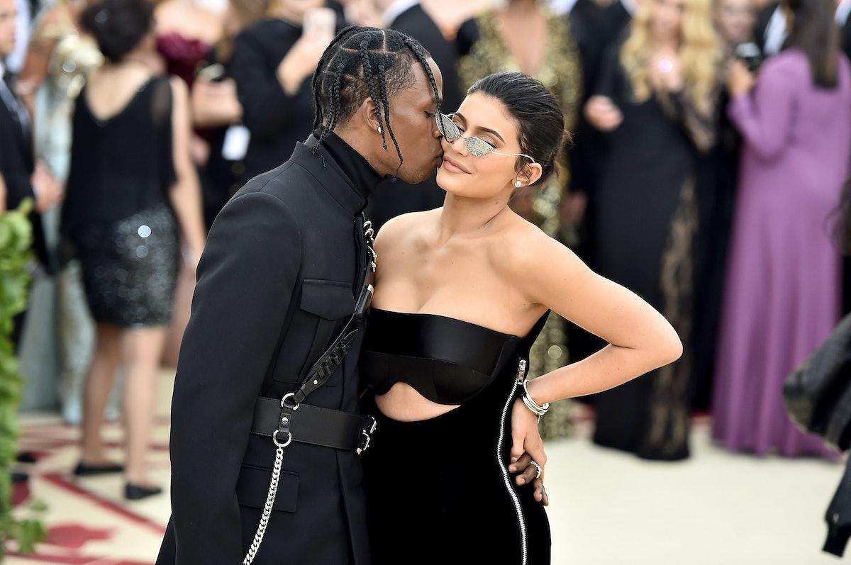 Kylie Jenner and Travis Scott look smitten at Met Gala 2018
