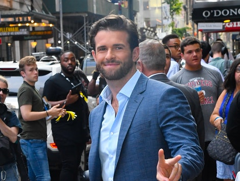'The Bachelorette' alum Jed Wyatt in New York City in August 2019