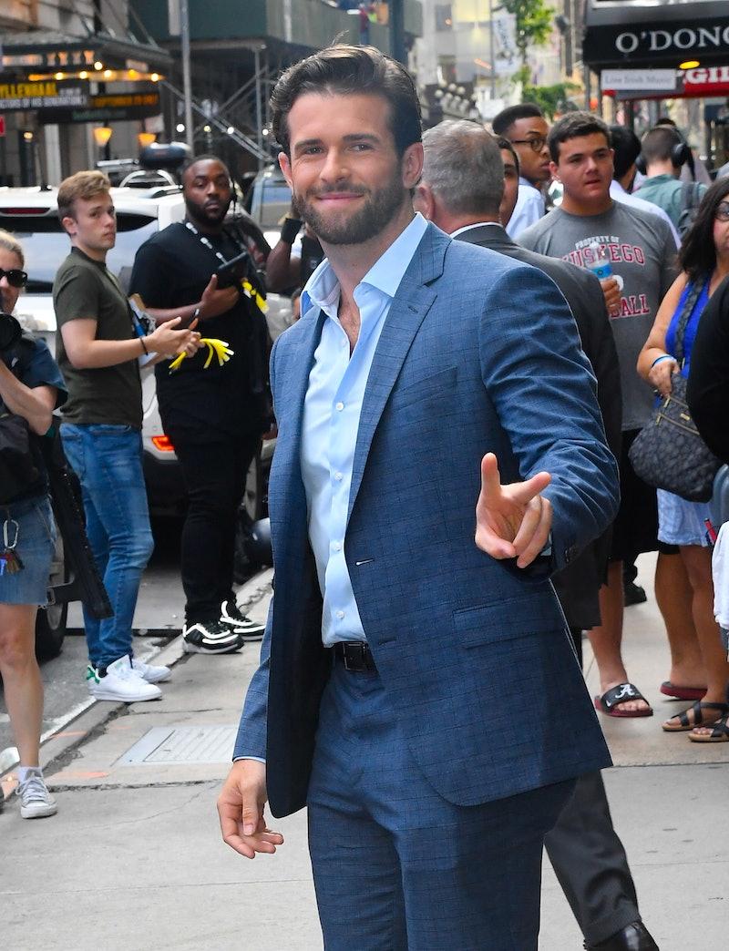 'The Bachelorette' alum Jed Wyatt in New York City in August 2019