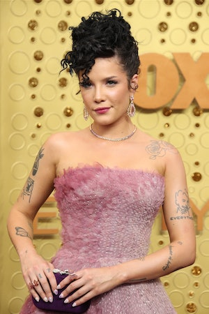 Halsey referred to Evan Peters as her boyfriend during a recent appearance on 'The Ellen DeGeneres S...