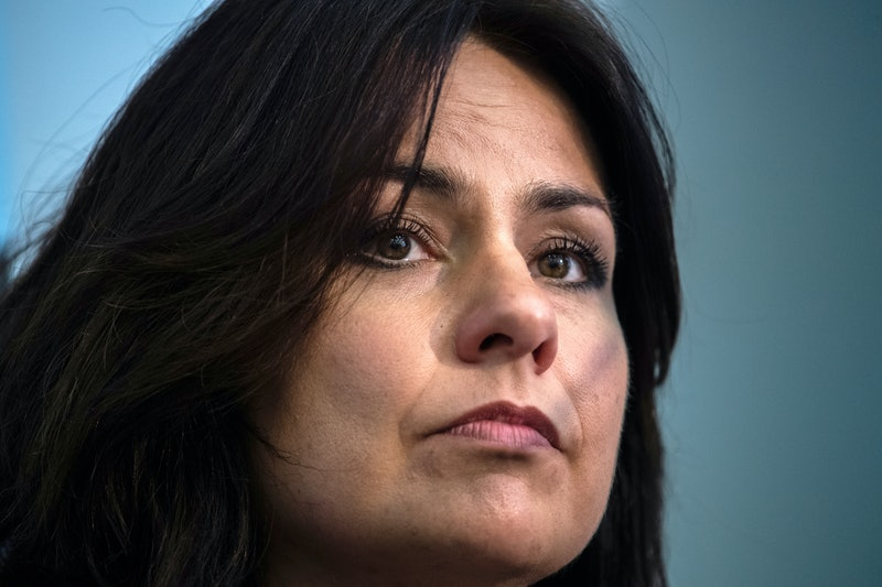 MP Heidi Allen is stepping down after a wave of Brexit-related abuse aimed at female politicians