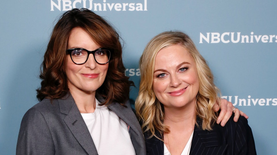 Best friends tina fey and amy poehler