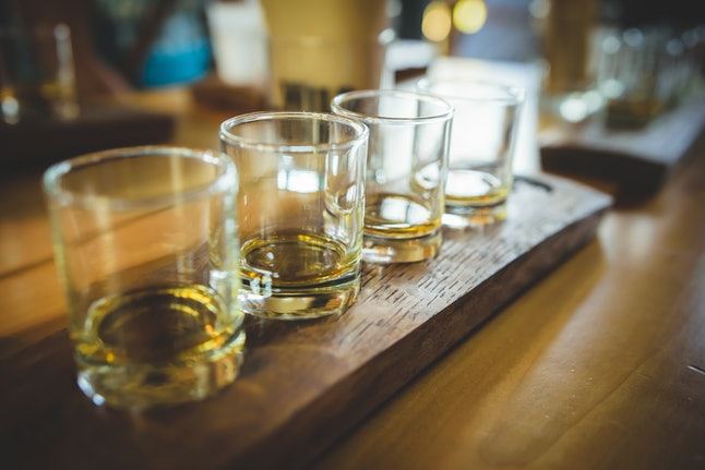 The process of distillation and fermentation in alcoholic beverages may make a difference when it comes to hangovers after a night of drinking.
