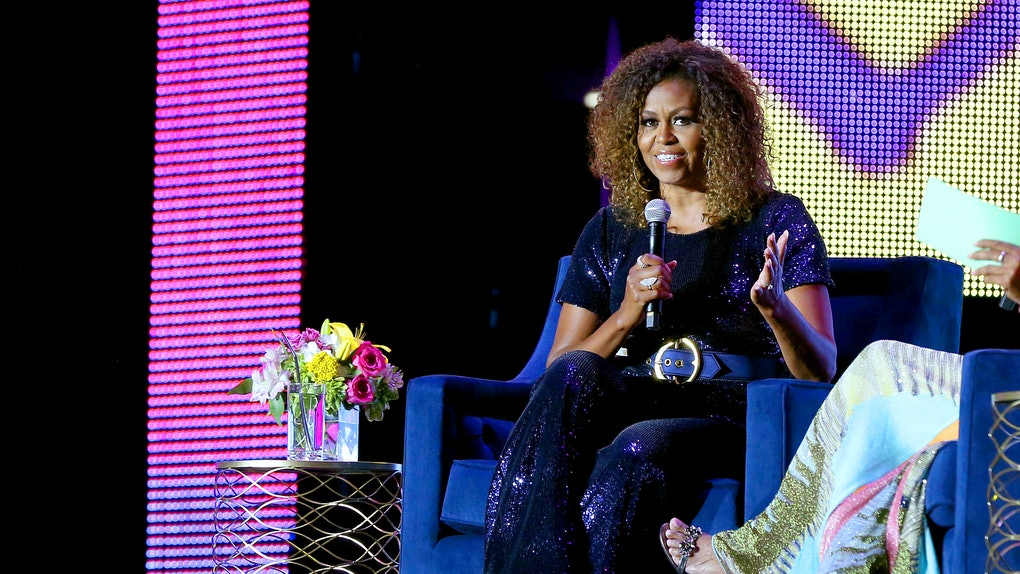 Michelle Obama discussing 'Becoming' as news of 'Becoming' follow-up book drops