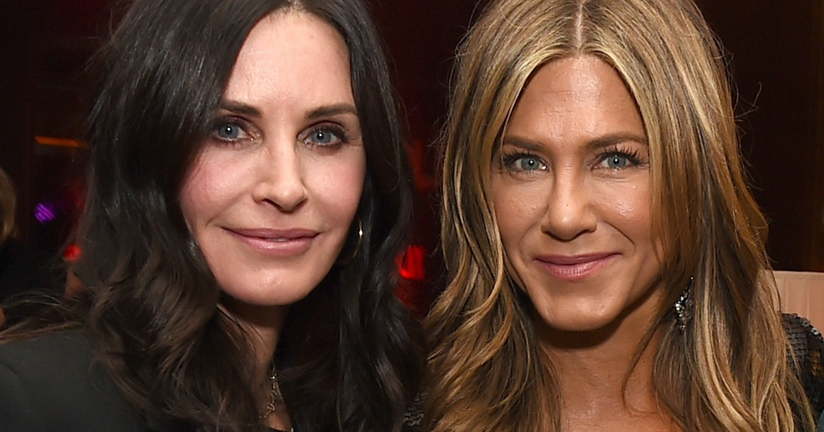 All 6 'Friends' Reunited For A Dinner Party At Courtney Cox's House
