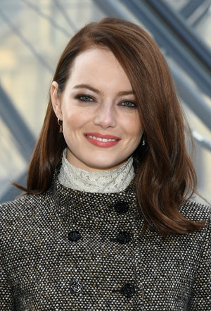 Like Zoey Deutch, Emma Stone has been vocal about her struggles with anxiety.