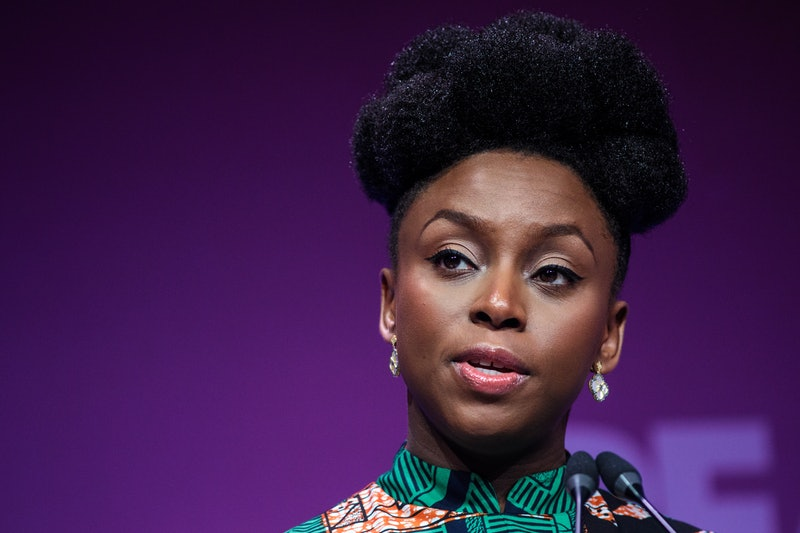In an interview for 'Women: The National Geographic Image Collection,' Chimamanda Ngozi Adichie — pi...
