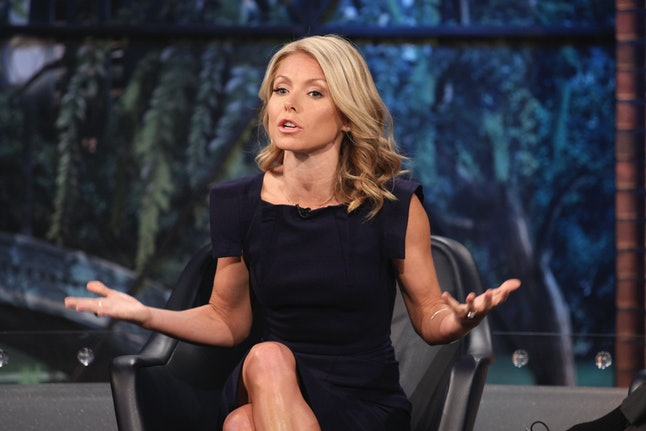 The Morning Show is similar to Kelly Ripa not being heard in the newsroom.